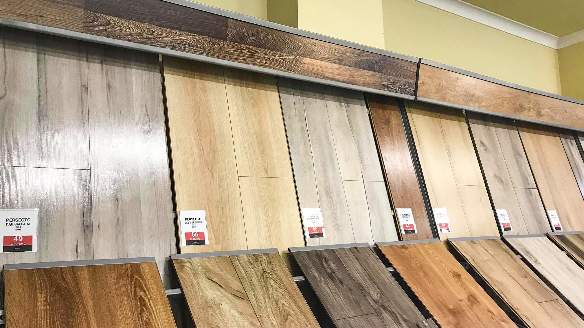 Nowe panele podłogowe
