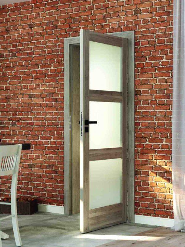 drzwi z szybami porta profi