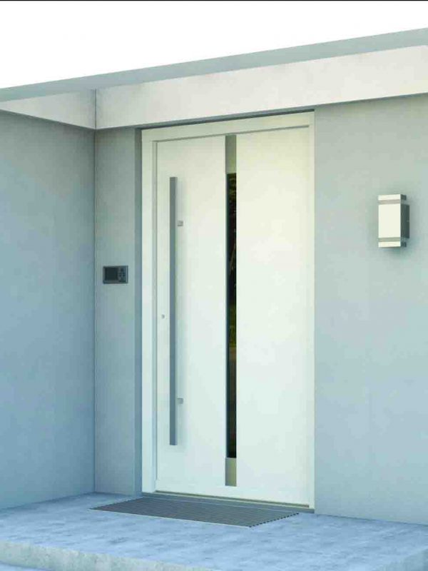 realizacja drzwi zewnętrzne porta